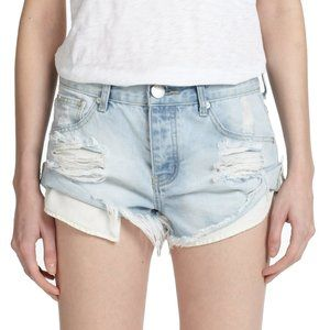 One Teaspoon Jeans Shorts